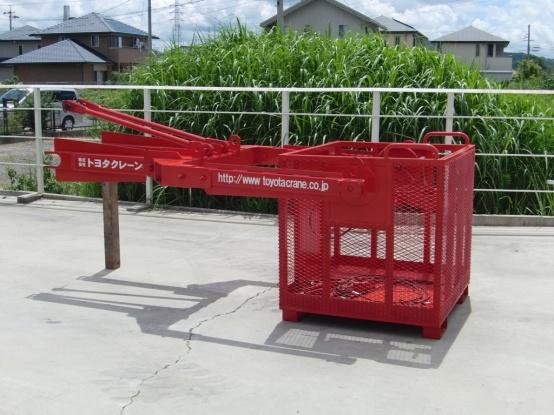 超高所作業用ゴンドラ 25トンラフター・50トンラフター・60トンラフターに装着可能!